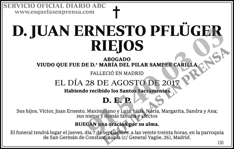 Juan Ernesto Pflüger Riejos